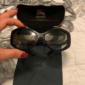 Burberry Black Sunglasses